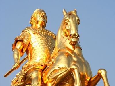 Der Goldene Reiter Dresden Dresden Der Goldene Reiter